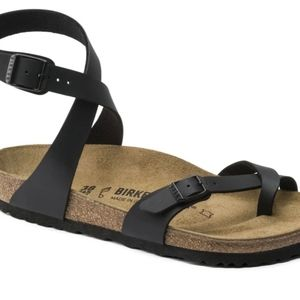 Birkenstock Yara Leather Sandals